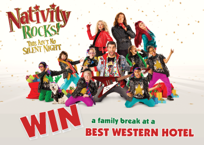 Nativity Rocks Best Western