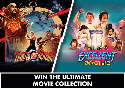 Bill & Ted | Flash Gordon | Competition
